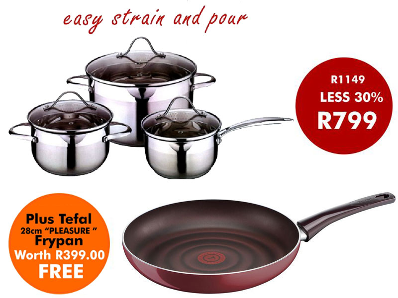 6PC COOKWARE SET