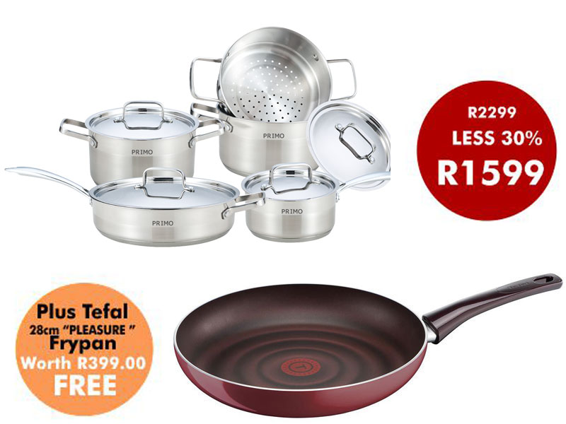 9PC SUPREME COOKWARE SET
